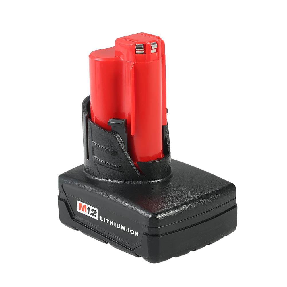 12V 5.0Ah Power Tools Li-ion Battery M12 Replacement Lithium-ion Battery Pack for Milwaukee electric screwdriver 48-11-2401 power tools replacement li ion battery charger electric screwdriver lithium ion battery charger for milwaukee m12 m18 ac110 230v