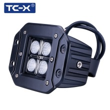 TC-X 4x3W 12W LED Worklight Car Flood Light Headlight for Offroads 4X4 Boating/ Hunting/ Fishing Vehicle Working Light Wholesale