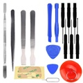hot sale fashion New 17 IN1 Universal Mobile Repair Opening Tool Kit Set Pry For iPhone 6S Smart Phone PC best good sale
