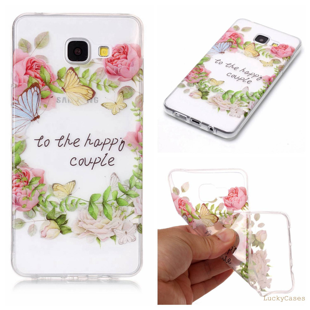 High Quality new Soft Silicone TPU phone case For Samsung A5 2016 A510 etui conque with Doughnut feather Dreamcatcher Pattern