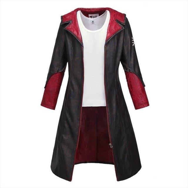 quality design ebd72 34ce1 Devil May Cry 5 DMC 5 Dante Cosplay Costume Vest Men s Tank Tops 100% Cotton