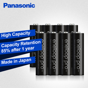 Image 2 - Panasonic Original Eneloop Batteries High Capacity 2550mAh 8pcs/2set Made In Japan NI MH Pre charged Rechargeable AA Battery