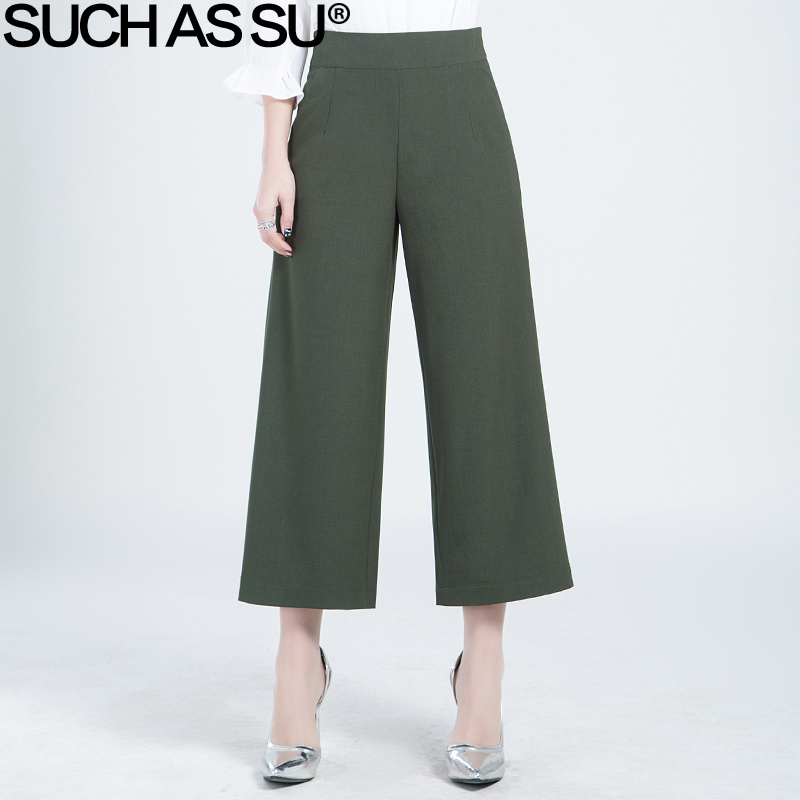 Trousers For Women 2017 Spring Summer Fashion Wide Leg ...