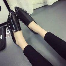2017 spring new footwear Peas footwear boat footwear scoop Modern comfy Ladies's footwear