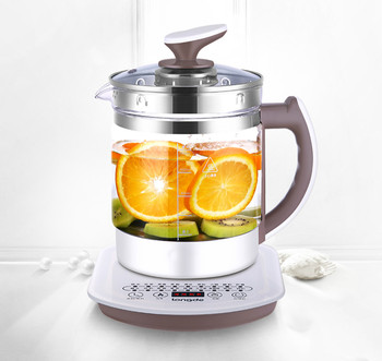 full-automatic  thickened glass multi-function tea-pot extractor  be used  cooking tea Safety Auto-Off Function