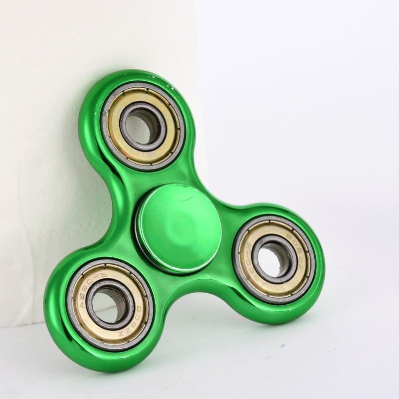 Anxiety Stress Relief Focus Toys Metal Finger Spinner Fidget EDC Hand Spinner For Autism and ADHD Gift multi color gyro led light finger spinner fidget plastic abs hand for autism adhd anxiety stress relief focus toys gift