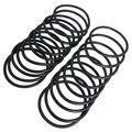 Резиновые уплотнительные шайбы 95 мм x 5,7 мм, масляный фильтр, черные уплотнительные кольца, 20 шт.