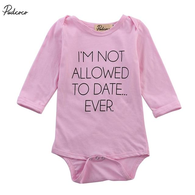 Newborn Baby Girls Pink Bodysuit Clothes Infant Girl Cute Bear