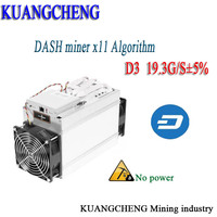 KUANGCHENG Fast Delivery Bitmain Dash Miner Antminer D3 Hash Rate 19 3 GH S 1200W And