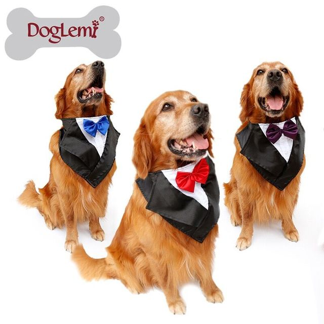 57 67cm Pet Cats Dog Tie Wedding Accessories Dogs Bowtie Collar Tuxedo Scarf