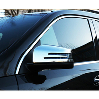 Rear View Rearview Side Mirror Cover For Mercedes W166 C292 X166 GLE Wagon Coupe ML GL GLS Class Chrome Car Styling Accessories