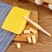 ABS пластик паста макаронные изделия доска спагетти паста Gnocchi машина ролик детские пищевые добавки формы уплотнения кухонный инструмент