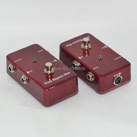Loops/Efectos de Guitarra Pedal Looper Switcher true bypass guitarra Roja interruptor de Bucle