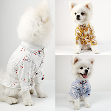 4bacb60d Summer Hawaiian Pet Dog Clothes for Small Dogs Cute Dog Tshirt Puppy Cat  Clothing Chihuahua Pug