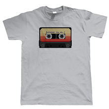Awesome Mix Tape Mens Funny T Shirt - DJ Dance Rave Gamer Geek Hipster Swag Harajuku Tops Fashion Classic Unique t-Shirt deep house mens t shirt every weekend dance rave dj ibiza club turntable decks harajuku tops fashion classic unique t shirt