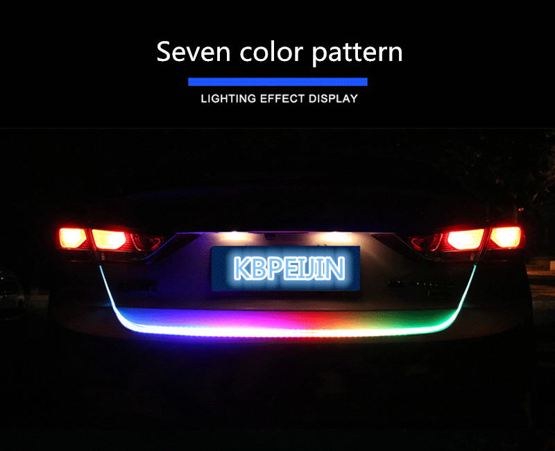 Us 2225 38 Offakcesoria Led Dynamiczny Bagażnika Oświetlenie Fluorescencyjne Tylne światło Tylne Naklejki Dla Mazda 3 6 2 5 Cx 5 Cx 7 Cx 3 323