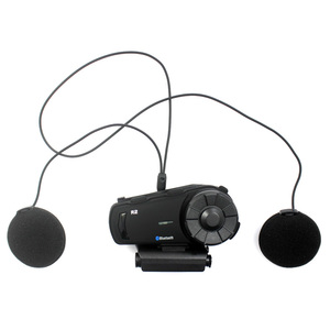 Image 2 - 2PCS 1000m Airide R2  Motorcycle Bluetooth Helmet Group Intercom Headset FM Radio MP3 Voice  Command Handsfree BT Interphone
