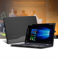 PU Leather Case Cover For Lenovo ThinkPad X1 Yoga 2017 14 Inch Laptop Bag Notebook Protective Sleeve Gift