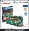 MLB San Francisco Fenway Park American Football Ball Rugby Baseball 3D Puzzle Stadium