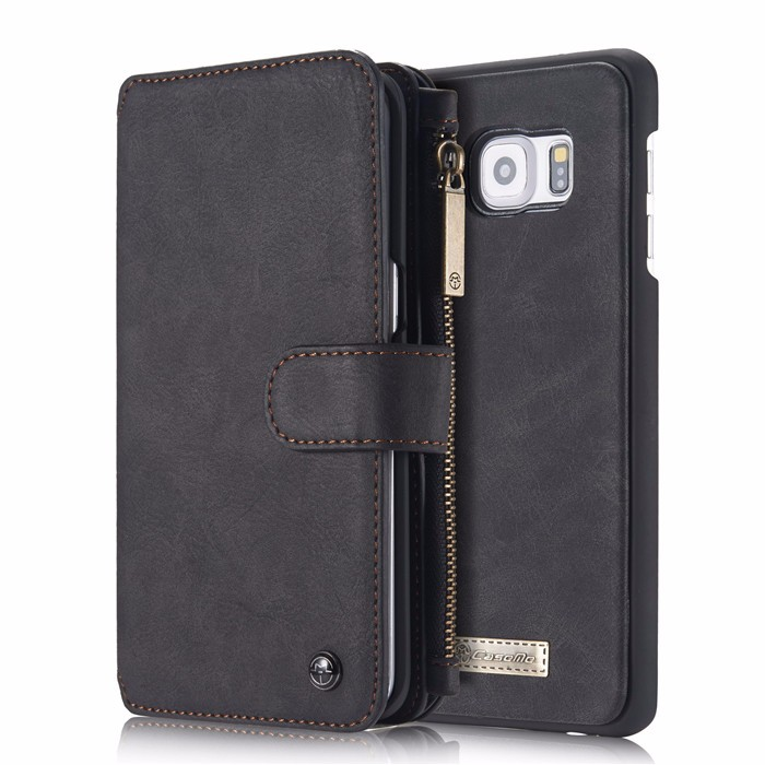 Wallet case For Samsung Galaxy S6 S6 Edge Edge Plus Genuine Leather Phone Case Bag Multi-functional Back Cover 14 Cards Holder (16)