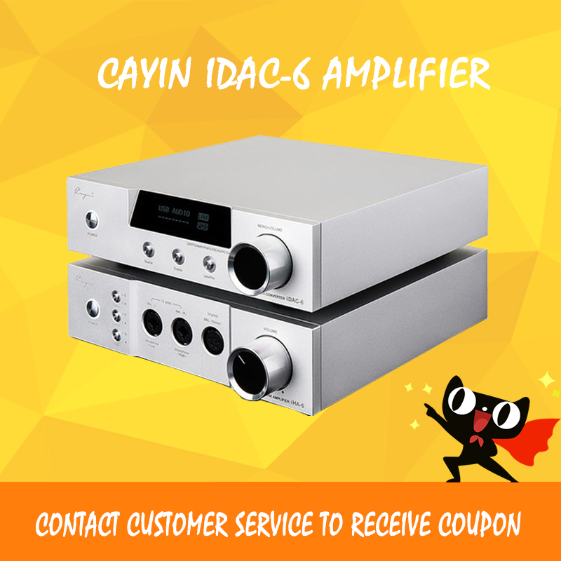 ASD Cayin iDac-6 & iHA-6 66 Set IDAC-6 Audio Decoder IHA6 Full Balanced HIFI Tube AMPs Aluminum Enclosure brass connector 2 way welding machine rotatable solenoid valve ac 24v