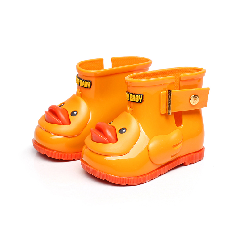 Mini Melissa Cute Ducks Rain Boots For Girls Mini Khoo Boots Children Rain Boots Baby Girls Kids Water Shoes Shoes Baby Boots