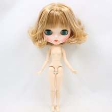 ICY Neo Blythe Doll Short Flaxen Hair Jointed Body 30cm