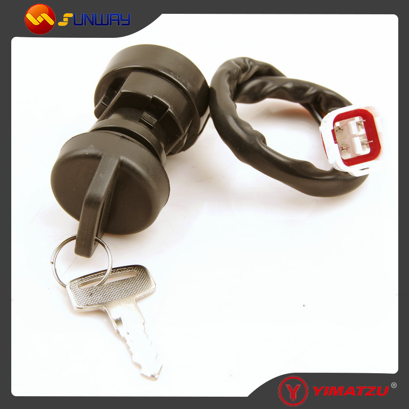 YIMATZU ATV PARTS IGNITION SWITCH KEY for YAMAHA TIMBERWOLF 250 YFB250F ATV QUAD BIKE FREE SHIPPING BY EPACKET