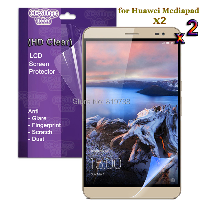 Mediapad X2 LCD Screen Protector HD Clear Guard Film Case Huawei Tablet - unidopro phone & tablet pc accessories Store store