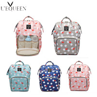Lequeen Backpack Diaper bolsa de maternidade para baby Large Capacity Baby Bags For Mom Multifunction Backpack For Mom