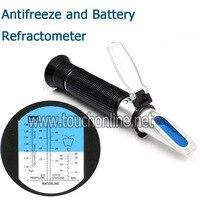 Ethylene Glycol Propylene Glycol Antifreeze and Battery Refractometer TA 503ATC