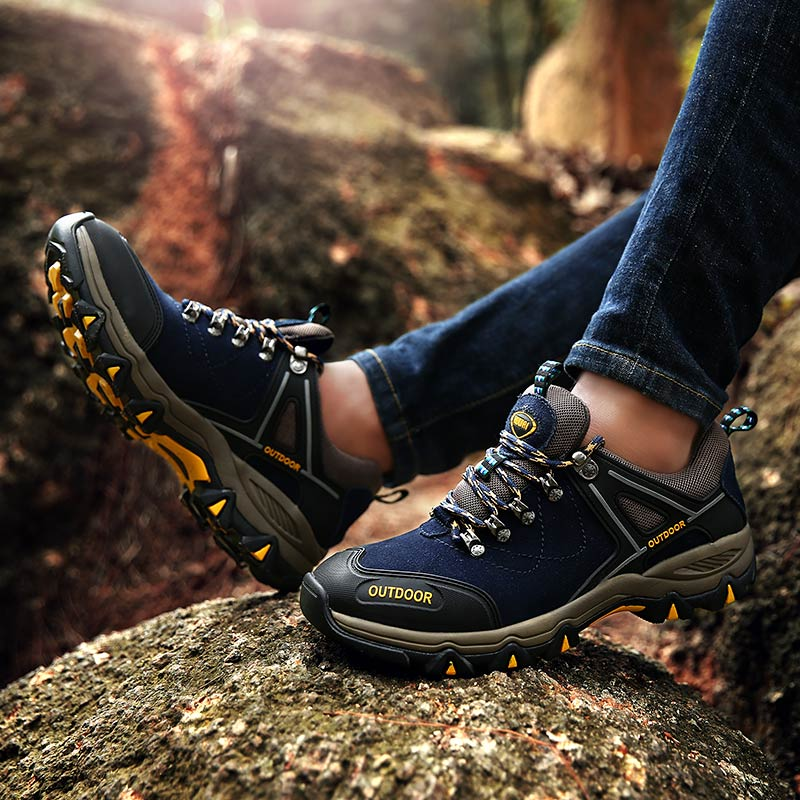 New Men's Sneakers Male Outdoor Sports Hiking Shoes Men Sneakers Men Walking Shoes Autumn Outdoor Adventure Sports Shoes Male outdoor hiking shoes men sneakers male shoes sport 2017 spring autumn new air mesh breathable men s non slip shoes men krasovki