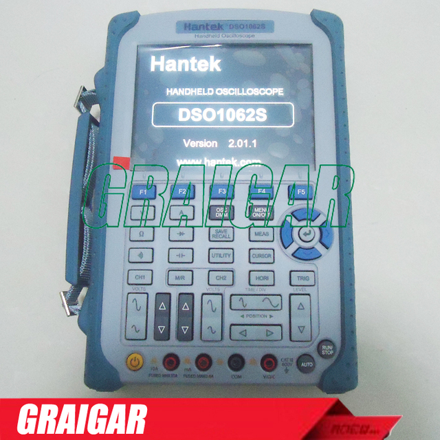 """Special Price NEW DSO1062S Handheld Oscilloscope 1GSa/s 60MHz 2 Channels Isolated 5.6"""" LCD Digital Multimeter 2M Memory Hantek 640*480"""