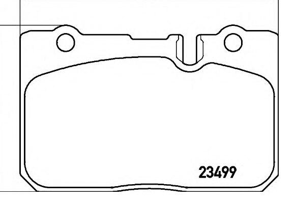 PF-1370 pastilhas de freio LEXUS IS