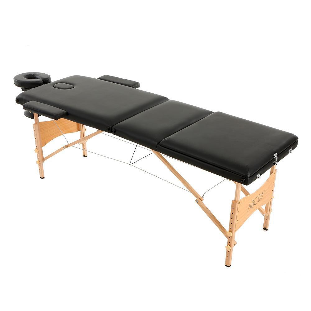 ABODY Portable Pliage Lit De Massage Avec Carring Sac Professionnel  Réglable SPA Thérapie De Tatouage Beauté