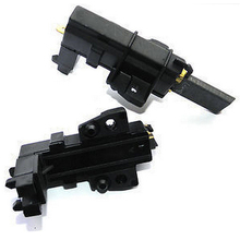 2 Pcs Washing Machine Motor Carbon Brushes For Whirlpool Hoover Candy Indesit