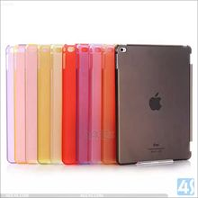 Matte Frosted Crystal Plastic Hard Protective Case for Apple iPad 6/ ipad Air 2 /ipad pro 9.7 Back Cover(China)