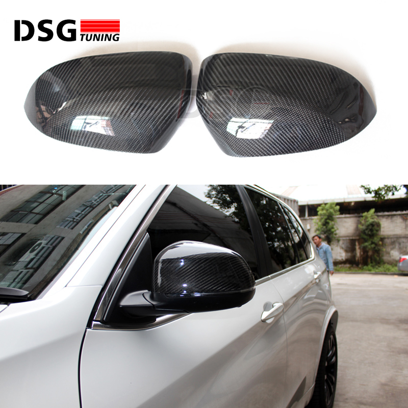 Replacement For BMW Carbon Fiber Mirror Covers F30 F10 E90 E92 E60 F12 F22 F32 F48 X3 X4 X5 X6 E70 E71 F25 F26 F15 F16 цена