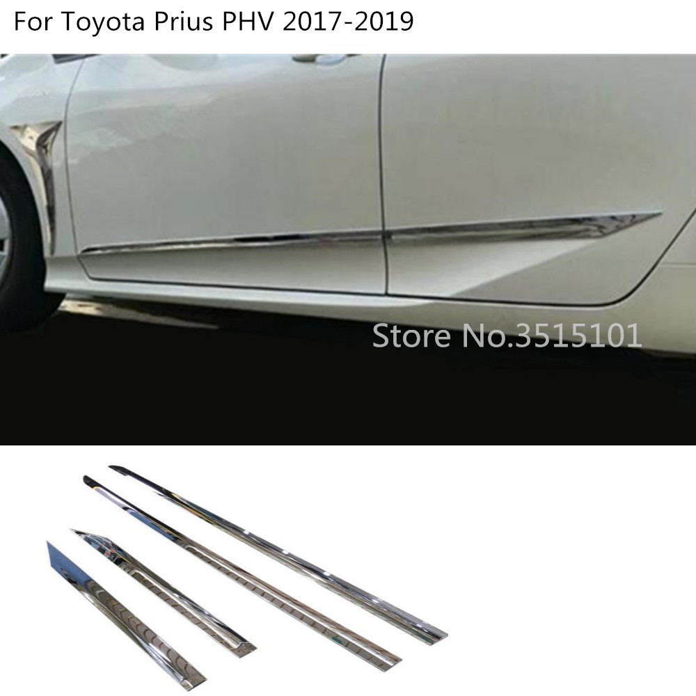 2019 Toyota Prius Prime: Aliexpress.com : Buy Car ABS Chrome Door Trim Strip