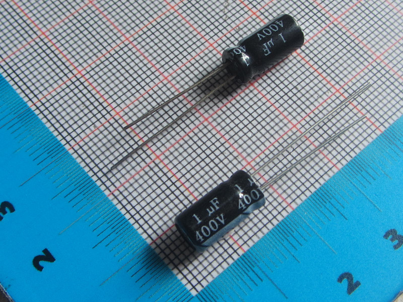 Free Shipping 50pcs/lot high Quality DIP Aluminum Electrolytic Capacitor 400V 1UF 6*12MM  electrolytic capacitor 1uf