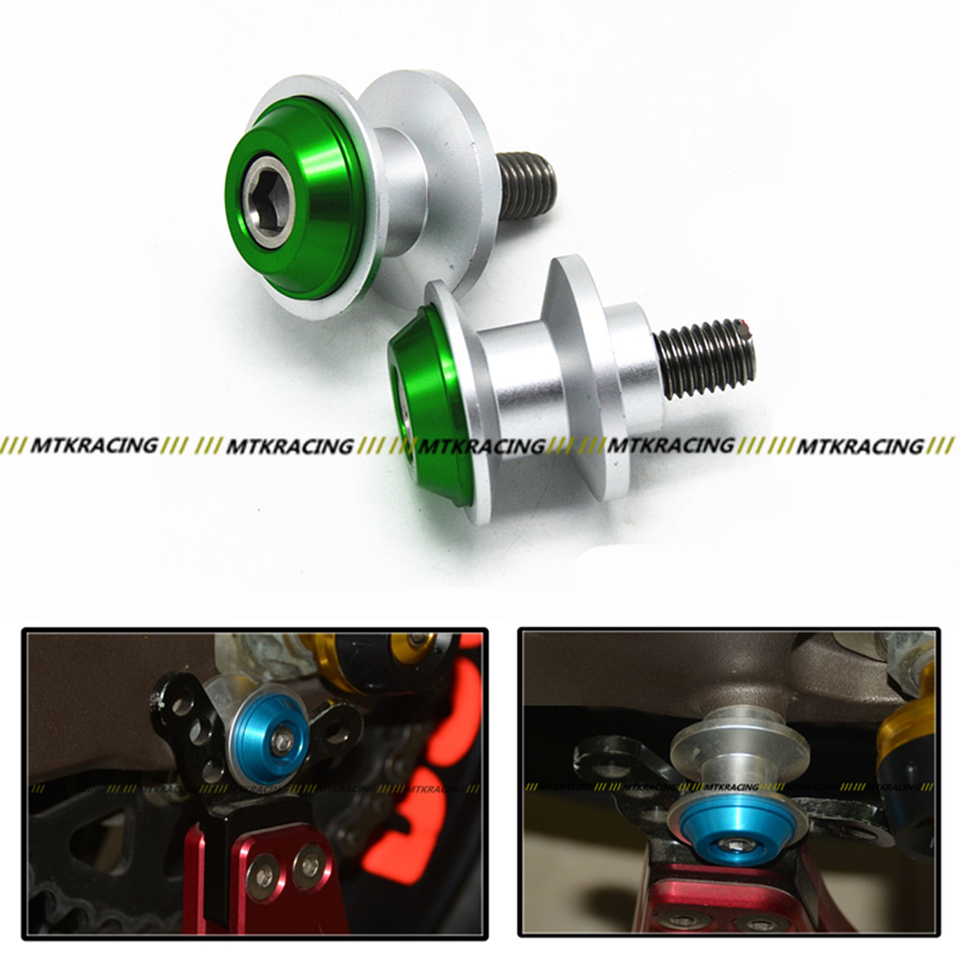 8mm Motorcycle stand screws Swingarm Spool Slider For KAWASAKI Z800 Z1000 Z1000SX ZX6R ZX-6R ZX-10R ZX10R ABS14-16Free delivery шорты baon р l 50