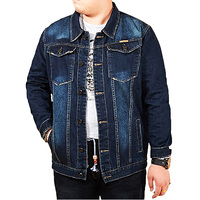New Men S Denim Jacket Plus Size M 8XL High Quality Fashion Jeans Jackets Slim Casual