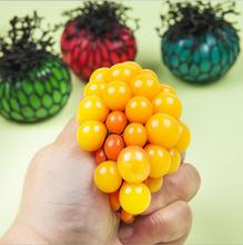 Vent Grape Ball Anti Stress Reliever Autism Squeeze Decompression Toys Halloween