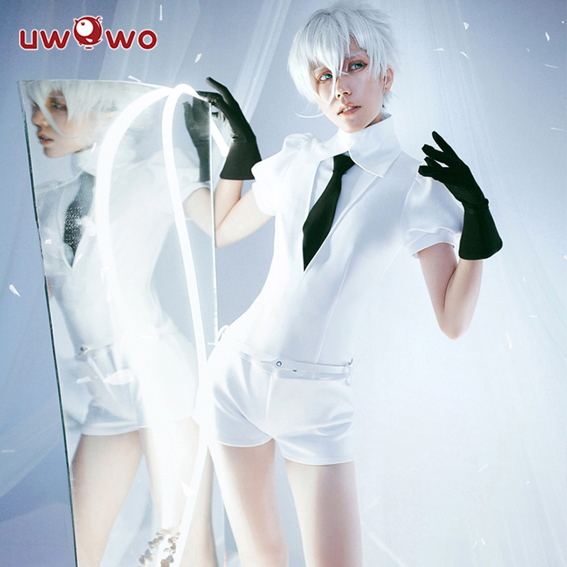UWOWO Land of The Lustrous Cosplay Costume Cinnabar Diamond Bort Morganite Antarcticite Jumpsuits Suits Anime Uniform Set