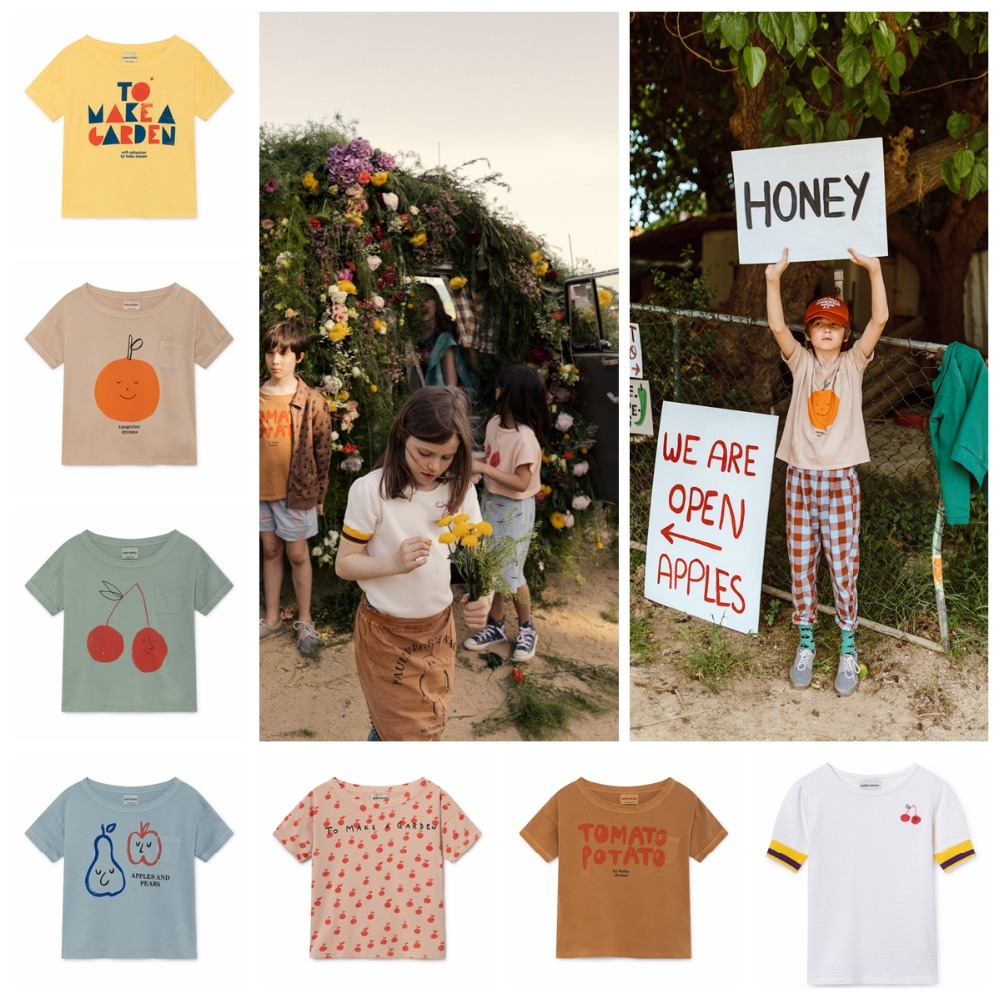 Children T-shirts Bobo Choses 2019 New Boys T Shirt Ladies Tops Brief Sleeve T Shirts Summer season Cherry Print Tees Youngsters Clothes T-Shirts, Low-cost T-Shirts, Children T shirts Bobo...