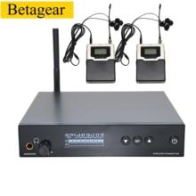 Betagear Профессиональное аудио сценическое L560 IEM Uhf в ухо монитор Беспроводная система моно для профессиональной производительности аудио запись