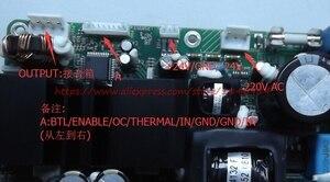 Image 2 - משלוח חינם 250ASX2 כוח מגבר לוח ICE125ASX2 דיגיטלי מגבר כוח לוח יש שלב חום מגבר כוח מודול