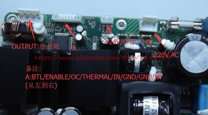 Image 2 - Free shipping ICEPOWER power amplifier board  ICE125ASX2 Digital power amplifier board have a fever stage power amplifier module