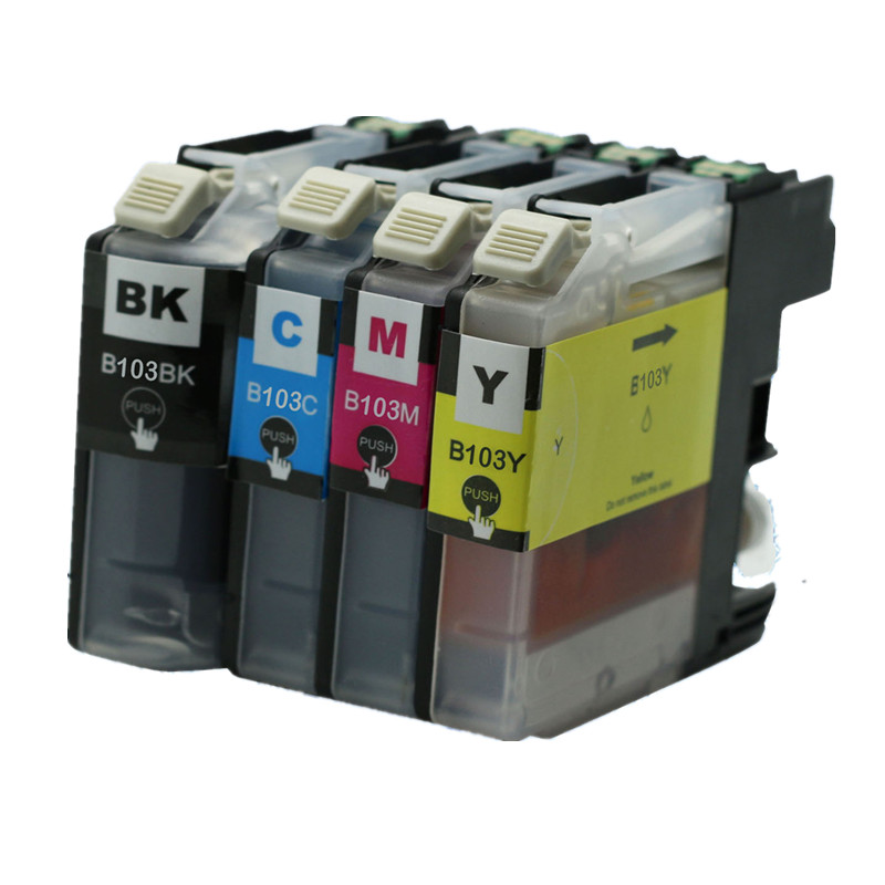 40 New Ink Cartridge with chip for Brother LC103 MFC J475DW J650DW J870DW J875DW