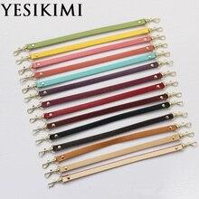 1 шт. натуральная кожа 1*31 см Замена коротких ремней сумка Аксессуары ручки для сумок